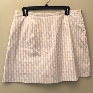 Nike Cotton Golf Skirt NWT